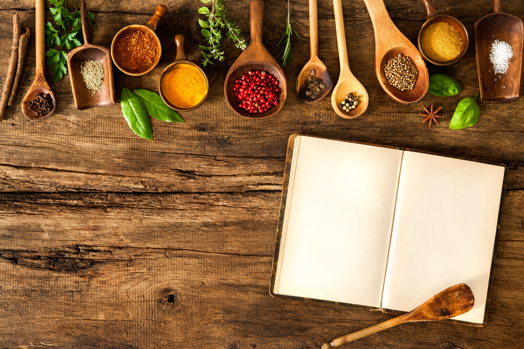 Kokböcker för ny inspiration